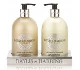 Baylis & Harding Jojoba, Hodváb a Mandľový olej tekuté mydlo + mlieko na ruky 2 x 500 ml