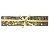 Rolničky v krabičke zlatej 1,5 cm, 39 ks
