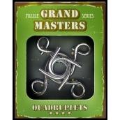 Albi Grand Masters kovový hlavolam - Quadruplets 4/4