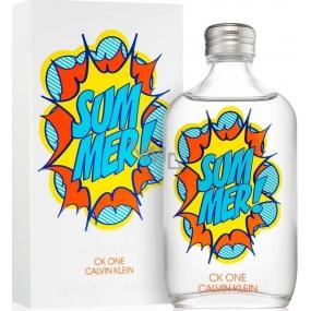 Calvin Klein One Summer 2019 toaletná voda unisex 100 ml