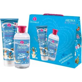 Dermacol Aroma Ritual Winter Dream sprchový gél pre ženy 250 ml + pena do kúpeľa 500 ml, kozmetická sada