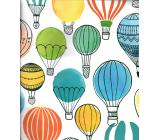 Nekupto Darčeková papierová taška 45,5 x 33 x 10,5 cm Balóny 1723 40 KFXL