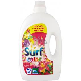 Surf Color Tropical Lily & Ylang Ylang gél na pranie farebnej bielizne 60 dávok 3 l