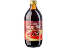 Allnature Bio Premium Brusinka 100% šťáva z plodů 500 ml