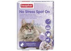 Beaphar No Stress Pipeta pre upokojenie, odstránenie stresu, úzkosti mačka 3 x 0,4 ml