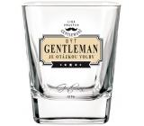 Nekupto LPG Whisky pohár NHF 005 Byť GENTLEMAN je otázkou voľby.