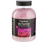 Corine de Farme Rose koupelová sůl 1,3 kg