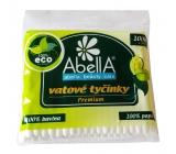 Abella Premium vatové tyčinky sáčok 100 kusov