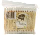Lybar Original Natural Bamboo bambusové vatové tyčinky sáčok 100 kusov