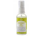 Lavosept Citron dezinfekcia kože gél pre profesionálne použitie viac ako 75% alkoholu 50 ml rozprašovač