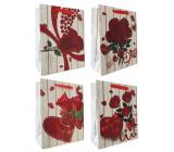 Emocion Darčeková papierová taška 260 x 320 mm Srdce, ruža 1 kus