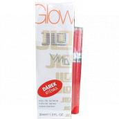 Jennifer Lopez Glow By JLo toaletná voda pre ženy 30 ml + Revlon Ultra HD Gél Lipcolor rúž 725 Sunset 1,7 g, darčeková sada