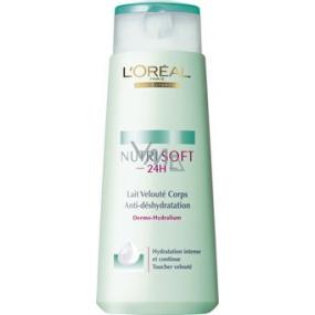Loreal Paris NutriSoft 24h telové mlieko pre normálnu pokožku 250 ml