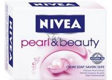 Nivea Pearl & Beauty tuhé toaletní mýdlo 100 g