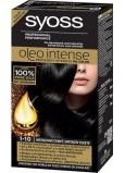 Syoss Oleo Intense Color farba na vlasy bez amoniaku 1-10 Intenzívne čierny