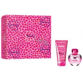 Moschino Pink Bouquet toaletná voda pre ženy 30 ml + telové mlieko 50 ml, darčeková sada
