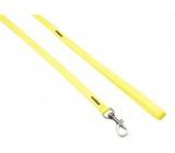 B & F Vodiaci popruh nylonový neón žltý 1 x 120 cm