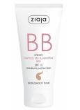 Ziaja BB SPF 15 krém normálna, suchá a citlivá pleť 03 Dark 50 ml