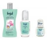 Fenjal Rose sprchový gel 200 ml + Sensitive parfémovaný deodorant sklo 75 ml + deodorant roll-on 50 ml, kosmetická sada