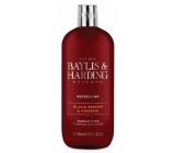 Baylis & Harding Čierne korenie a Ženšen pena do kúpeľa pre mužov 500 ml