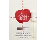 Nina Ricci Nina Rouge toaletní voda pro ženy 1,5 ml s rozprašovačem, vialka