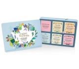 English Tea Shop Bio Wellness Pre krásu + Očisti ma + Pocit šťastia + Pro spánok + tvarujte ma + Pre upokojenie, 36 kusov čajov, 6 príchuťou, 54 g, darčeková sada v plechovej dóze