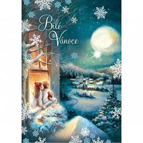 Ditipo Hracie želanie Biele Vianoce deti v okne Karel Gott Biele Vianoce 224 x 157 mm