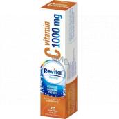 Revital Vitamín C Pomaranč doplnok stravy pre normálnu funkciu imunitného systému 1000 mg 20 šumivých tabliet