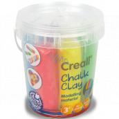 Creall Kriedová samotvrdnúca plastelína 6 farieb kýblik