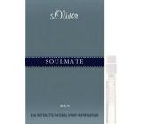 s.Oliver Soulmate Men toaletní voda s rozprašovačem 1 ml, Vialka