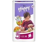 Bella Happy 5 Junior 12-25 kg plenkové kalhotky 42 kusů