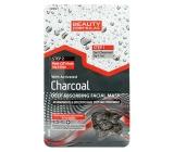 Beauty Formulas Charcoal Aktívne čierne uhlie pleťová maska 13 g