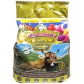 Biom sedliakov kravský hnoj granulované prírodné hnojivo 3 kg