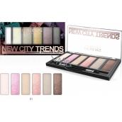 Reverz New City Trends paletka očných tieňov 01 9 g