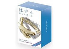 Huzzle Cast Ring kovový hlavolam, obtiažnosť 4