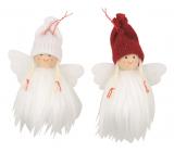 Anjel chlpatý na zavesenie 7 cm 1 kus