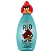 Angry Birds Red 3D 2v1 šampón a sprchový gél 300 ml zelený