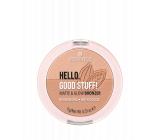 Essence Hello, Good stuff! Matte & Glow bronzer 10 Cocoa-cool 9 g