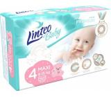 Linteo Baby Premium 4 Maxi 8 - 15 kg jednorazové plienky 50 kusov