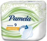 Pamela Ultra Wings Satin Soft hygienické vložky s křidélky 9 kusů