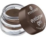 Essence Eyebrow Gel Colour & Shape gél na obočie 01 Brown 3 g