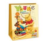 Ditipo Disney Dárková papírová taška dětská XL Medvídek Pú, Youre Great Reader 33 x 10,2 x 45,7 cm