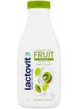 Lactovit Fruit Antiox Pružnosť a starostlivosť kivi a hrozno sprchový gél pre normálnu až suchú pleť 500 ml