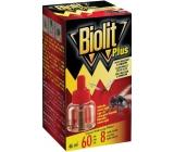 Biolit Plus Odpařovač tekutá náplň proti mouchám a komárům 46 ml