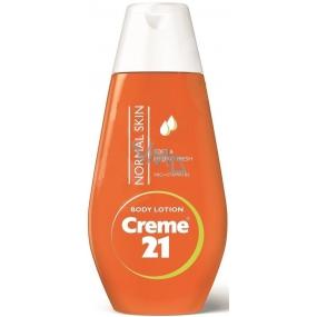 Creme 21 Provitamín B5 telové mlieko pre normálnu pleť 50 ml