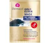 Dermacol Gold Elixir Omladzujúci maska s kaviárom 2 x 8 g