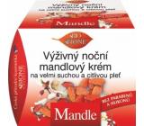 Bion Cosmetics Mandle výživný nočný mandľový krém veľmi suchá a citlivá pleť 51 ml