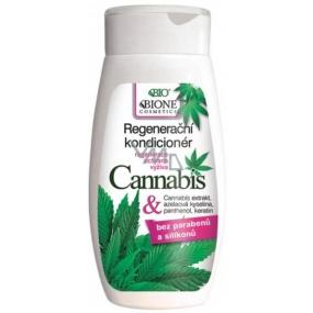 Bione Cosmetics Bio Cannabis regenerace, ochrana, výživa kondicionér 260 ml
