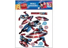 Room Decor Samolepky na stenu Marvel Captain America 30 x 30 cm