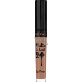 Miss Sporty Matte to Last 24h Lip Cream tekutá rtěnka 110 Vibrant Mocha 3,7 ml